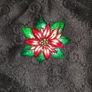 Floral Christmas women's pendant